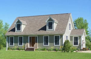The Pocasset Cape Style Home
