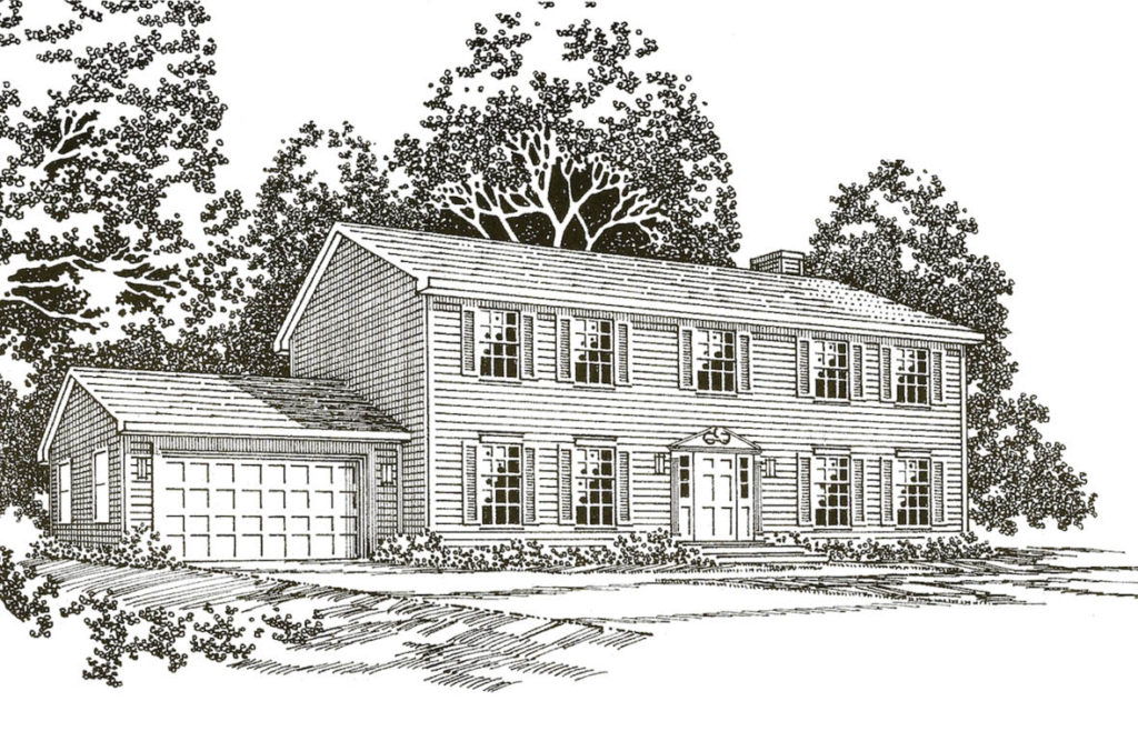The Harrison Colonial