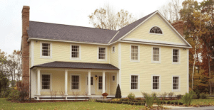 Custom Colonial Style Home Plan IV
