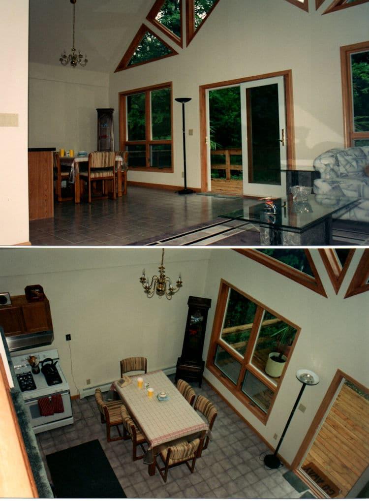 Chalet Modular Home Interior