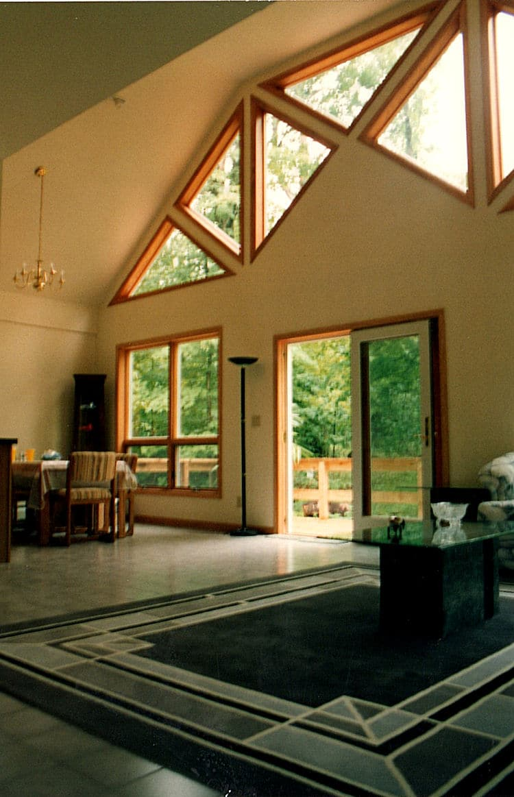 Chalet Style Modular Home Interior