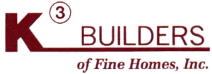 K-3 Builders of Fine Homes Logo