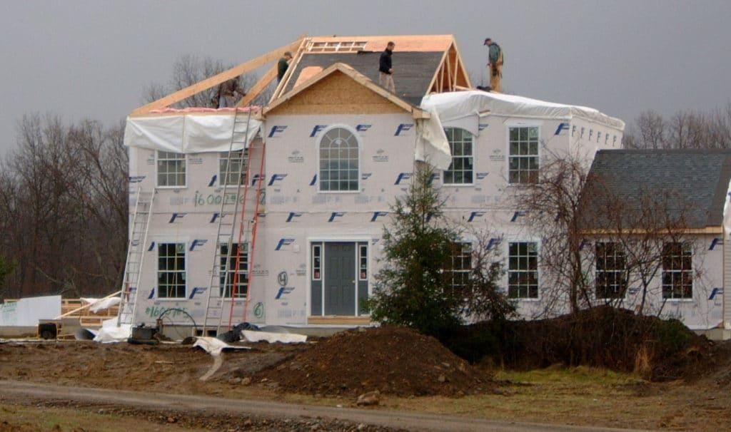 Custom Modular Home Under Construction